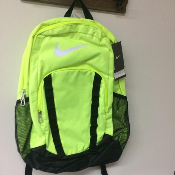 NWT Nike Brasilia 7XL Backpack Volt BA5075 e6361f82539e7